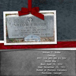 Butler genealogy