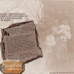 Hemphill, Roberts genealogy