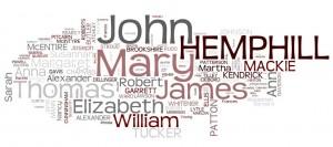 Hemphill, Mackie, Butler, Ward, Kendrick, genealogy