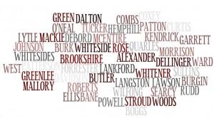 genealogy, Kendrick, Hemphill, Butler, Ward