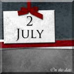 On this date. . .the 2nd of July