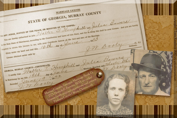 Hemphill genealogy
