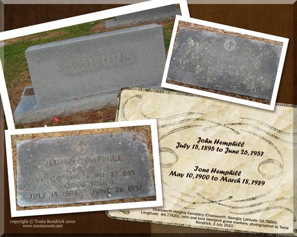 Hemphill genealogy
