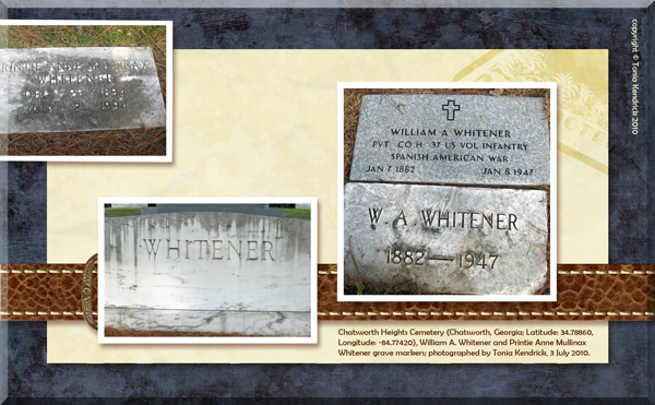 Whitener genealogy