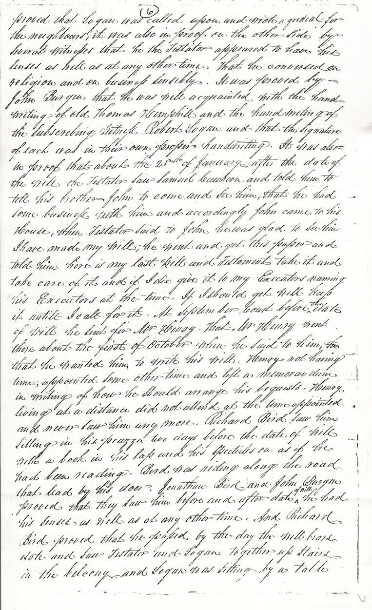 Captain Thomas Hemphill's Will - page 6