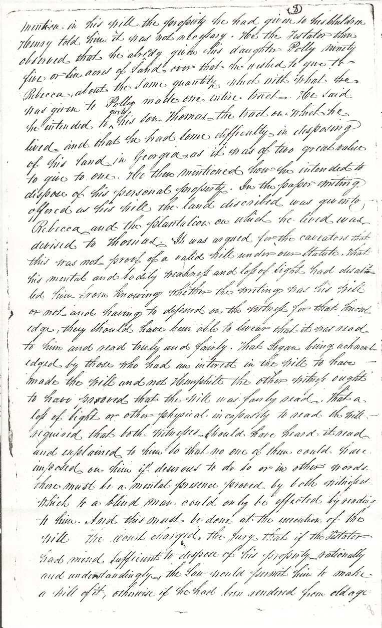 Captain Thomas Hemphill's Will, page 8