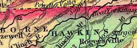 Hawkins County TN 1834