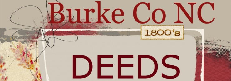 Burke County North Carolina Deeds